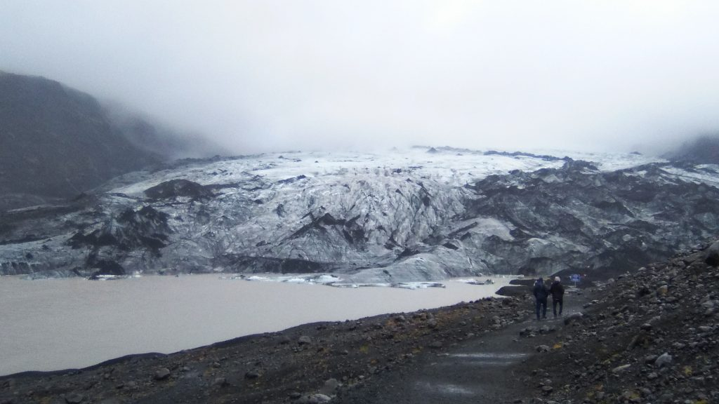 Glaciar Eyjafjallajökull