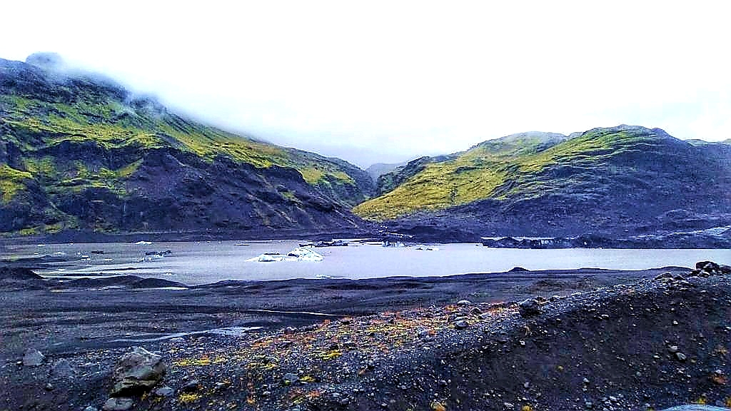 Laguna glaciar Eyjafjallajökull
