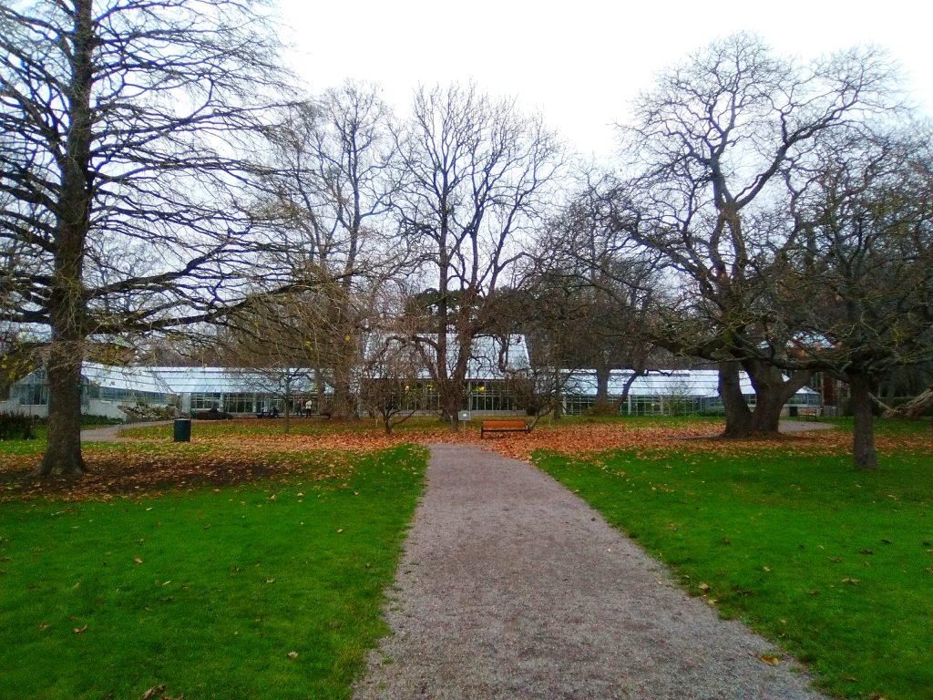jardín botánico Lund