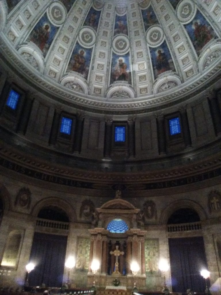 Cúpula iglesia de Mármol
