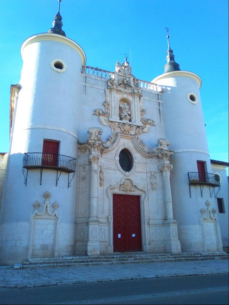 fachada iglesia Rueda