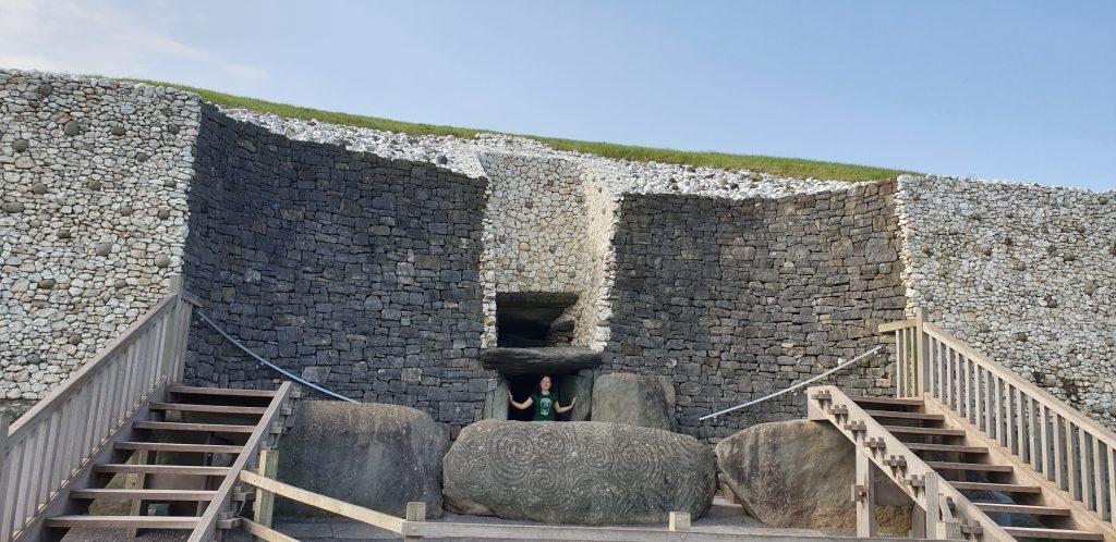 Entrada a Newgrange