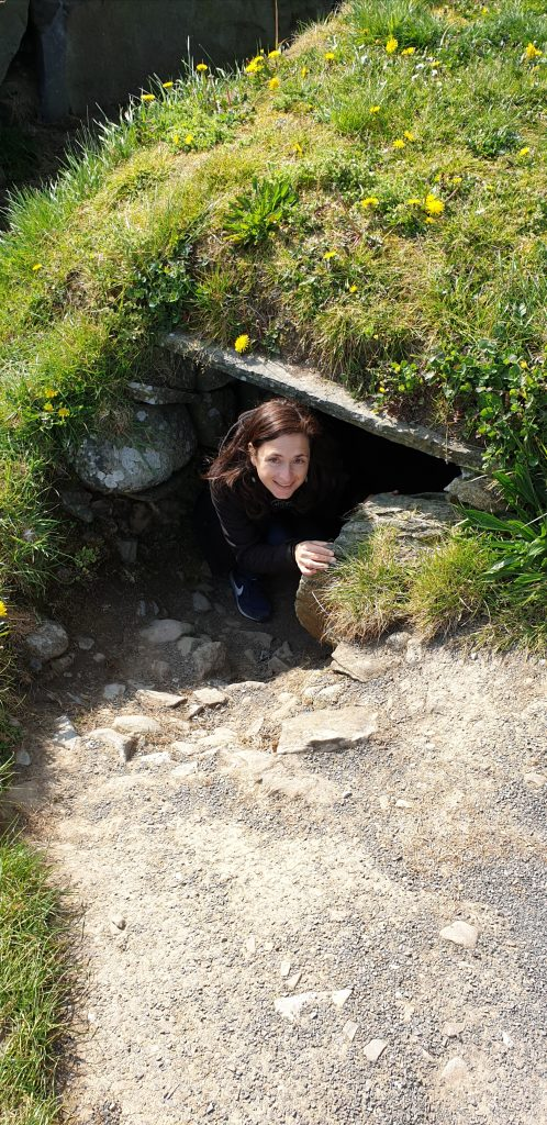Túnel casa Knowth