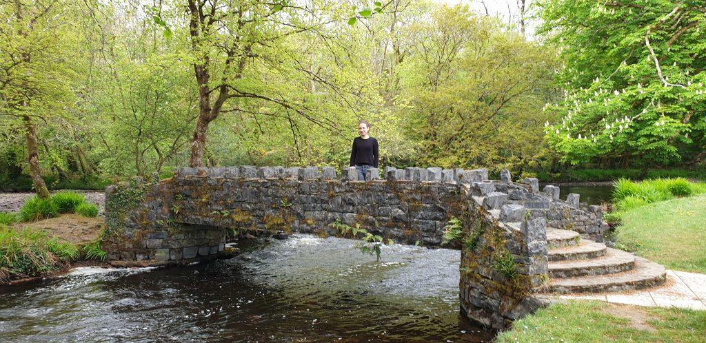 Puente con forma de castillo