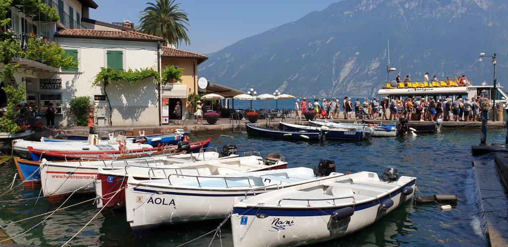 Puerto viejo de Limone sul Garda