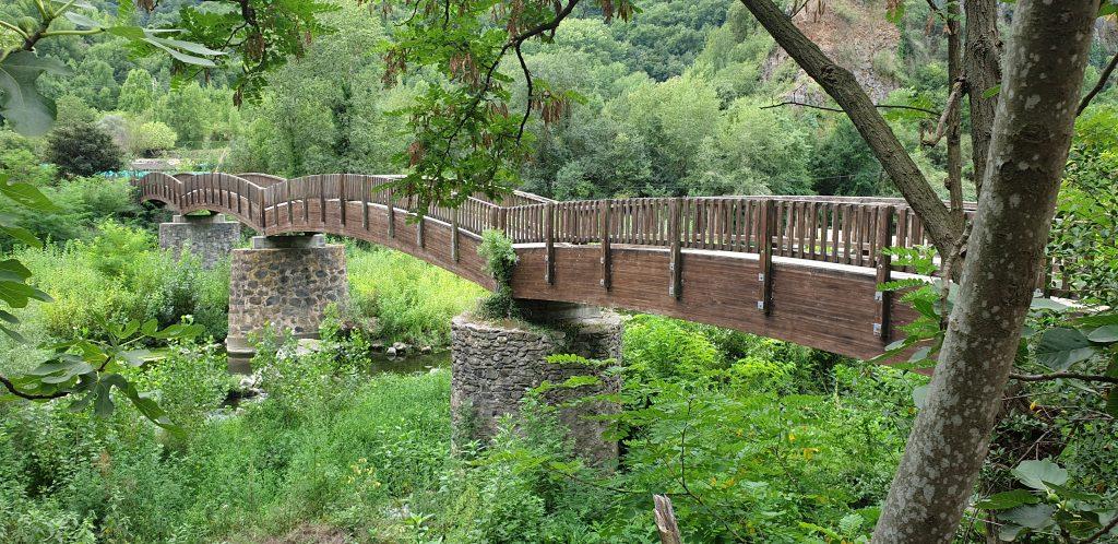 Puente en CASTELLFOLLIT de la Roca