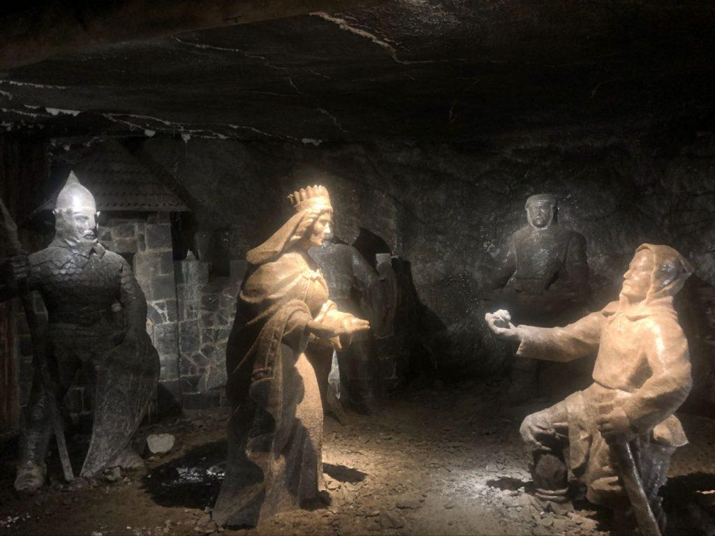 Esculturas en la Mina de sal