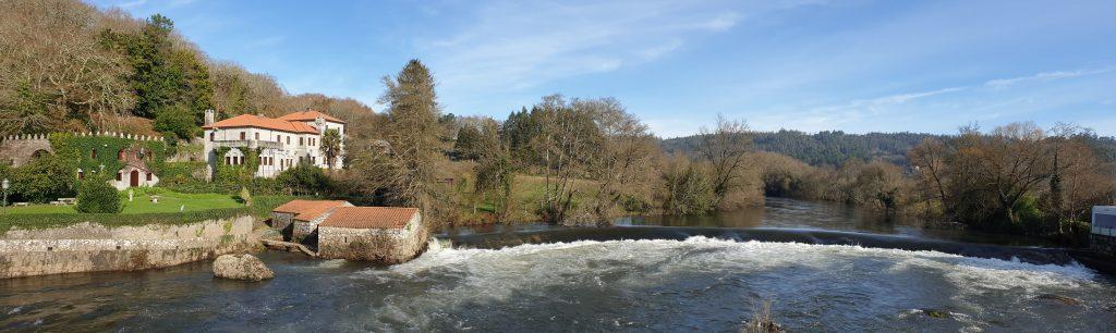 Presa del río Tambre en Ponte Maceira