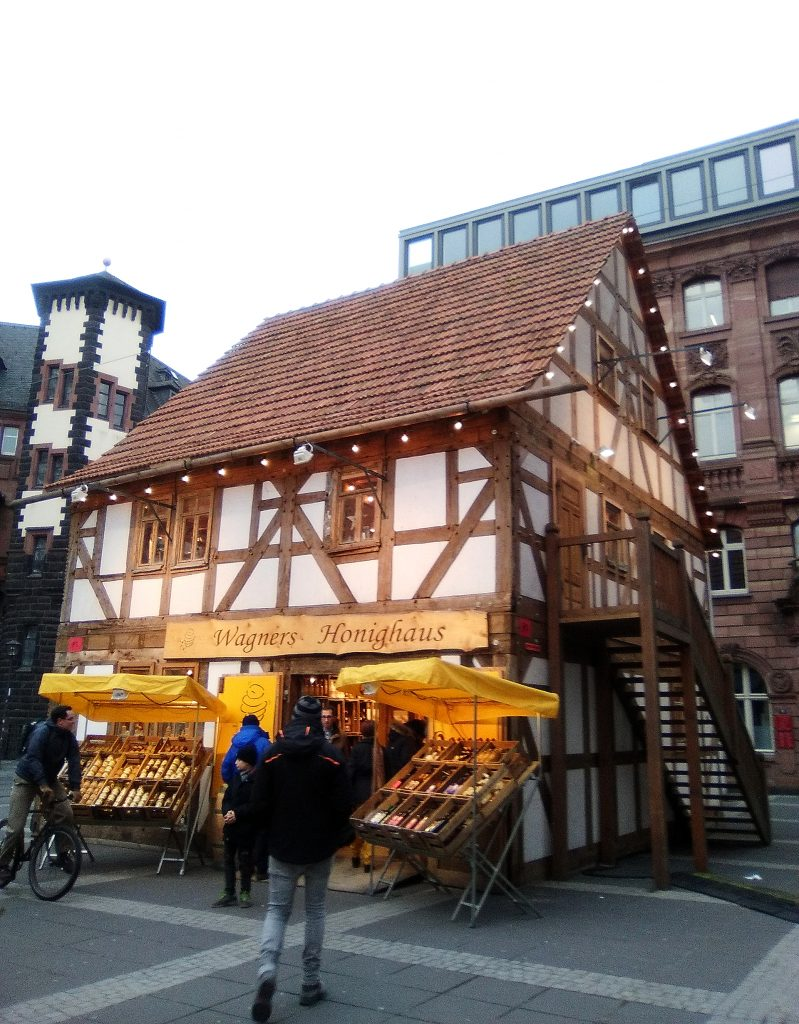 Casa típica en Frankfurt