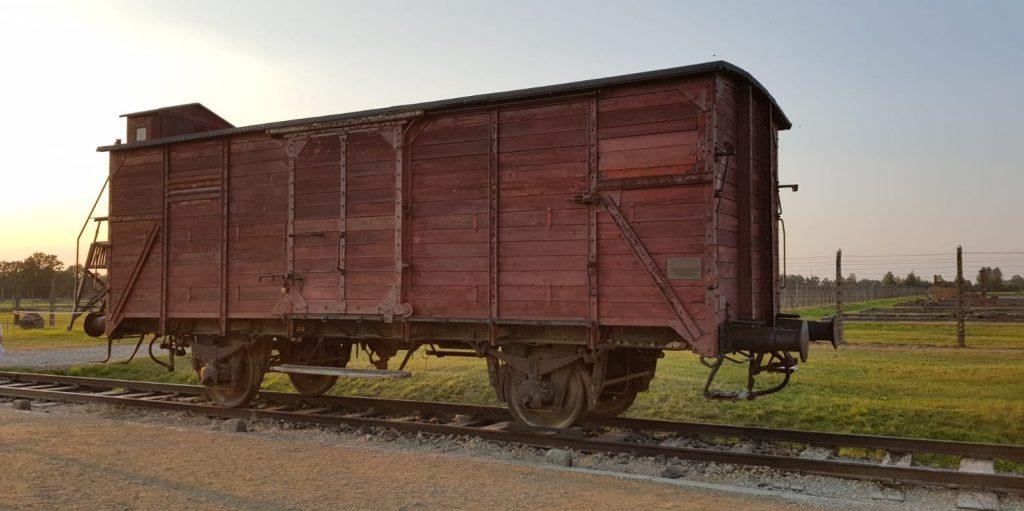 Tren a  Auschwitz
