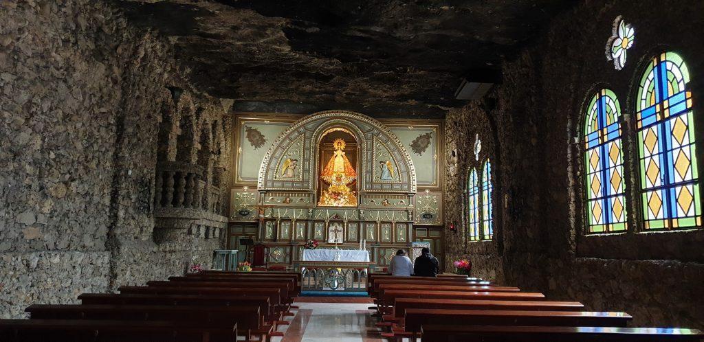 Interior del Santuario de Nuestra de la Esperanza de Calasparra