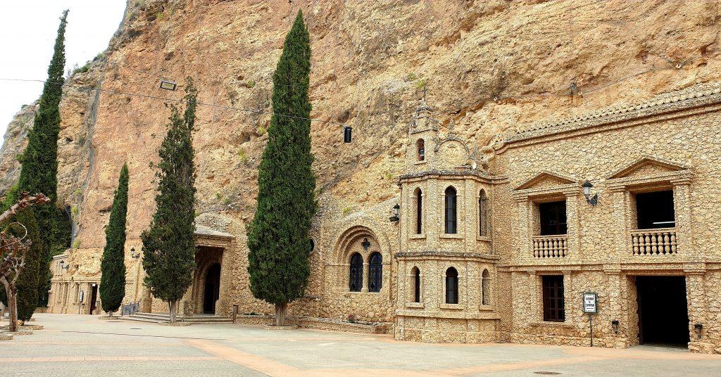 Exterior del Santuario de la Virgen de la Esperanza de  Calasparra