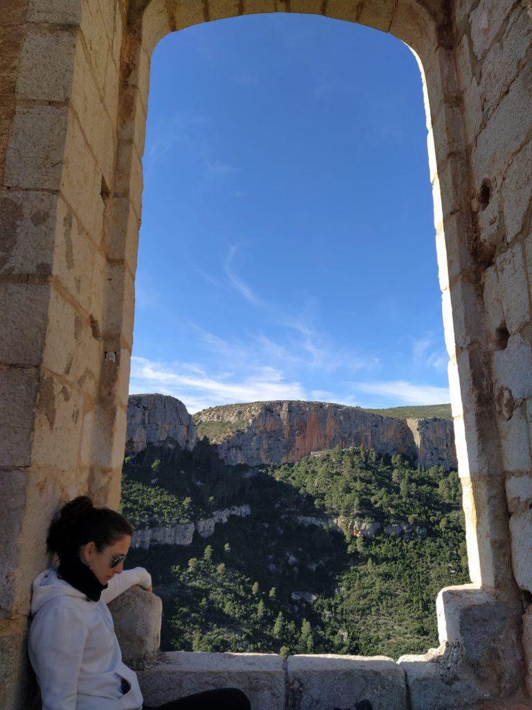 Ventana del  castillo