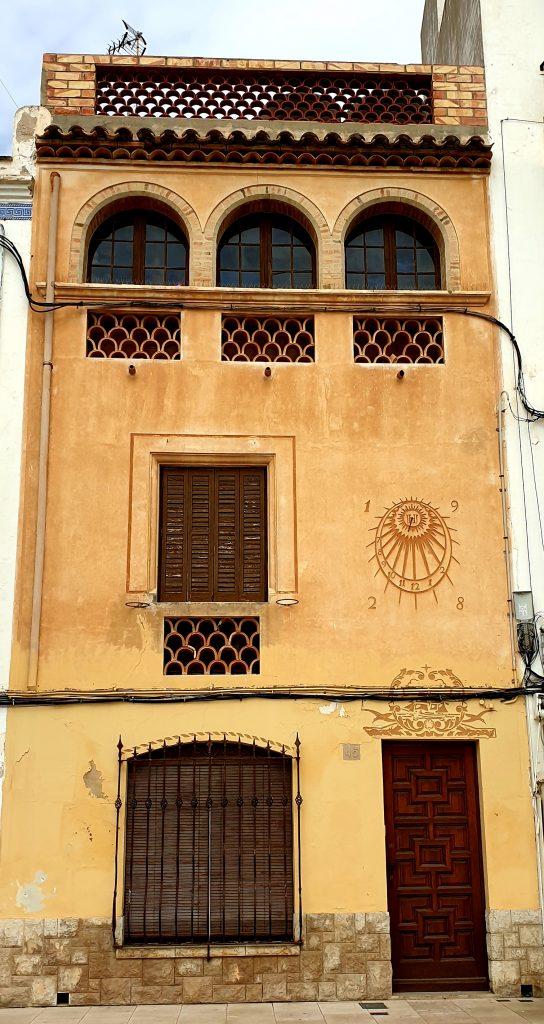 Edificio indiano en Sitged