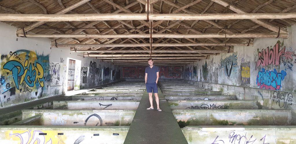 Interior cetárea de Rinlo