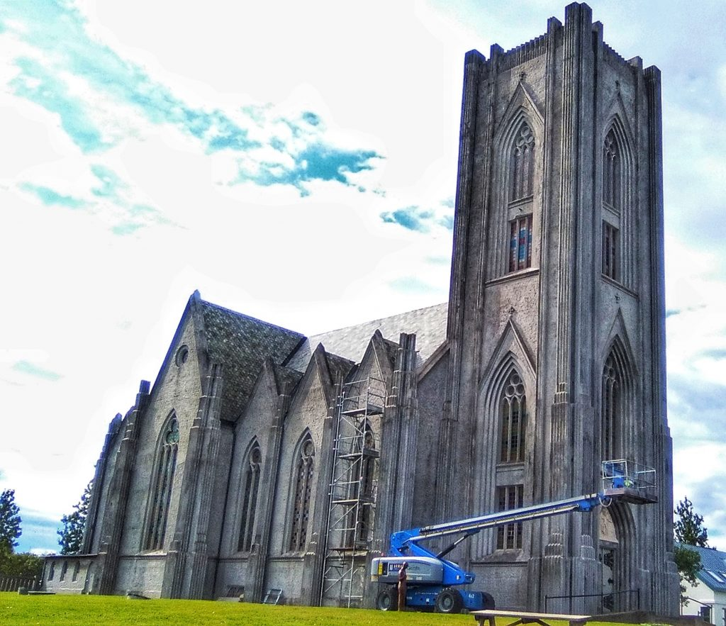 Catedral  Cristo Rey de Reikiavik