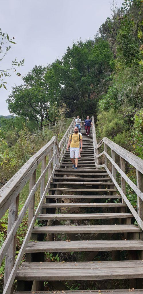Escaleras río Mao
