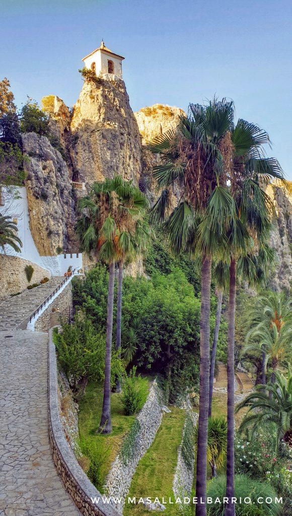 Entrada al Castell de Guadalest